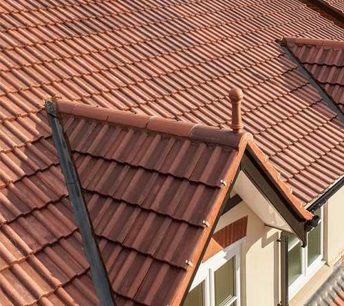 Double-Roman-roofing